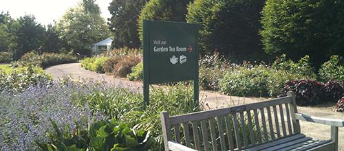 Rose Society signage