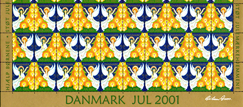 Gardiner design associates seasons greetings suppliers colleagues and associates a merry christmas and a peaceful new year this years image is the danish christmas stamp design from 2001 m4hsunfo