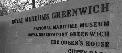 Greenwich, elegant built-up lettering