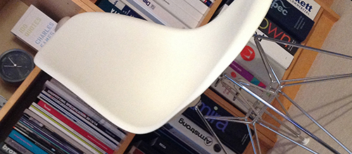 Swanky Eames side chairs…