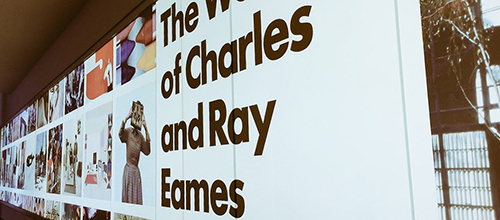 The World of Eames at Barbican