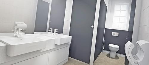 Washroom 3D render