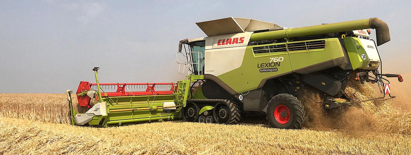 Farming Enterprise graphics and signage