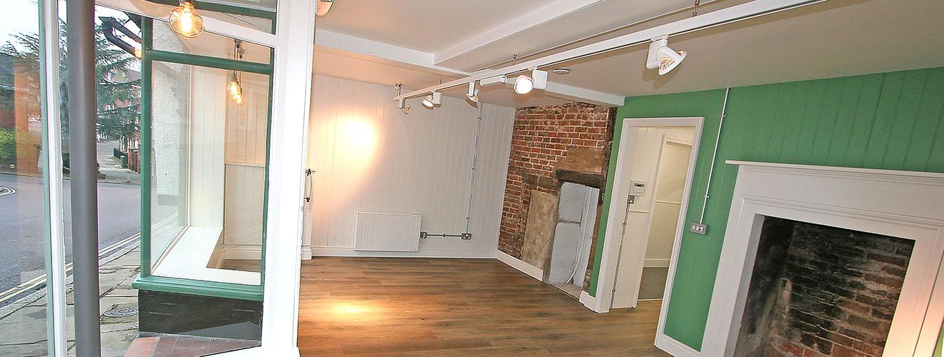 Historic shop unit