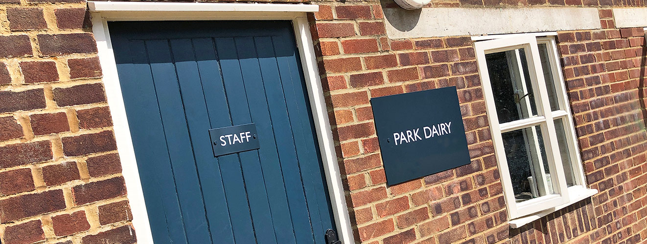 Park Dairy signage